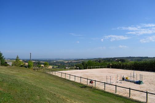 Nos installations, équipement pour chevaux au centre équestre à Pratviel